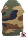 Vorführmodell - DoggyDolly Hundepullover camouflage W355