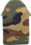 DoggyDolly W355 Strickpullover für Hunde Camouflage