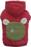 DoggyDolly W363 Teddy Pullover für Hunde rot