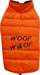 DoggyDolly W382 Hundemantel WOOFWOOF orange
